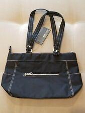 Kenneth Cole Reaction Black Medium Tote Handbag NEW