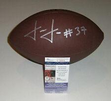 PACKERS Josh Jackson signed football w/ #37 AUTO JSA COA Autographed Green Bay