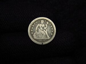 1841-O Seated Liberty Dime VG GREAT LOOKING EARLY TYPE