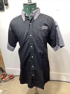 Audi Mechanic Technicians Team Wear Shirt Polo Short Sleeve Pit Crew XL