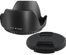 58mm Tulip Flower Lens Hood For Canon EF-S 18-55mm f/3.5-5.6 IS II SLR Lens