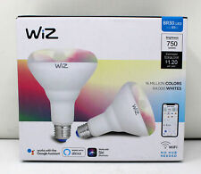 WiZ EQ. 65 Watt BR30 Smart WiFi LED Light Bulbs