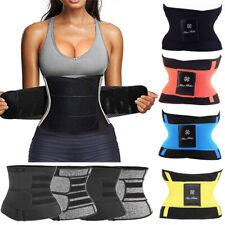 Sauna Sweat Waist Trainer Body Shaper Tummy Slimmer Belt Corset For Weight Loss