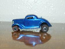Vintage Original Redline Hot Wheels Blue Classic 36 Ford  Coupe