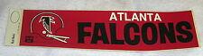 "1970's Atlanta Falcons 4"" X 14"" Bumper Sticker Old School Vintage Very RARE NFL"