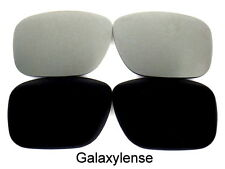 Galaxy Replacement Lens For Oakley Dispatch 1 Sunglasses Black/Titanium Polarize