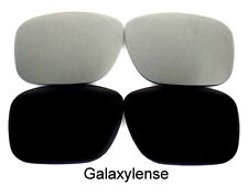 Galaxy Replacement Lenses For Oakley Deviation Black/Titanium Polarized 2 Pairs