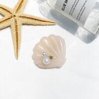 Hair Clip Girls Headwear Lolita Barrette Hairpin Accessories Shell Resin Sea