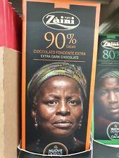 20 barrette di Ciocciolata Fondente Zaini cioccolata extra dark 90%