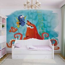 Childrens wallpaper Disney Finding Dory 144x100inch Nemo feature wall mural