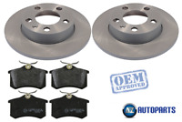 For Volkswagen VW - New Beetle 1998-2010 Rear Brake Discs and Pads Set