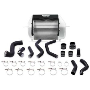 Mishimoto Silver Intercooler + Black Pipe for 2011-2014 Ford F-150 EcoBoost