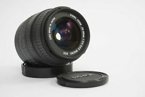 Sigma Zoom 28-80mm 1:3.5-5.6 II macro for canon EF