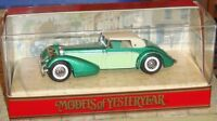 MATCHBOX - MODELS OF YESTERYEAR - 1938 HISPANO-SUIZA CAR - Y-17 - BOXED