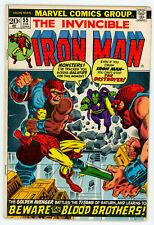 IRON MAN #55 (Marvel 1973) FN! 1st appearance THANOS & DRAX! Jim Starlin