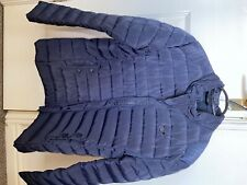 ARMANI JEANS  BLUE/NAVY WARM PUFFER POLYESTER PUFFER JACKET L