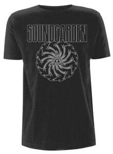 Official Soundgarden T Shirt Blade Motor Finger Black Classic Rock Band Tee Mens