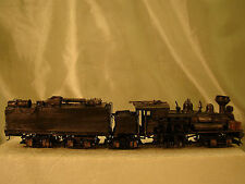 4 Track Steam Logging Shay - custom built, weathered, decorated - lot 6 -HO