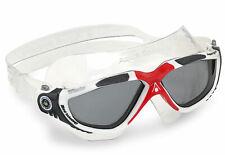 Aqua Sphere Swimming Goggles Vista Tinted Slices White Red