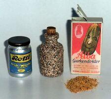 "1:6 scale WW II German Field Kitchen supplies set ""C"""