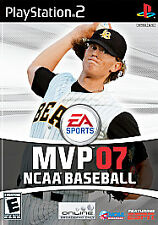 NCAA BASEBALL MVP 07 2007 PS2 Playstation 2 Game COMPLETE Disc SPOTLESS!