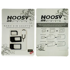 Noosy SIM Adapter Converter 4-in-1 for All iphones and iPad mini & Samsung s3/s4