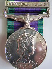 """British General Service Medal 1962 """"NORTHERN IRELAND"""" - Pte. S. Conry DWR"""