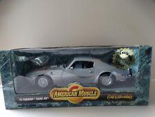 ERTL American Muscle 1973 Pontiac Firebird Trans AM 1:18 Scale Diecast Model Car