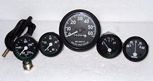 Jeep Willys Speedometer 12 V fits 1946 66 CJ 2A 3A 3B M38 M38A1 Gauges Kit