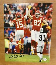 Patrick Mahomes Signed Auto Autograph 8x10 Chiefs Super Bowl Champs MVP COA