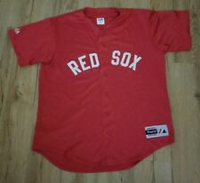 Boston Red Sox 'Red' 1999 sewn Athletic Majestic jersey men's size-Large