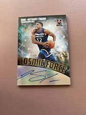 2017-18 Panini - Vanguard Basketball: Karl-Anthony Towns: Cosmic Force Auto #/49