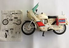 Action Man Motocicleta de Policía Original Años 70 con Instrucciones