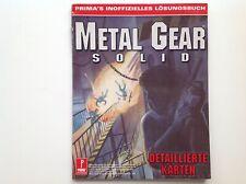 Metal Gear Solid Primas inoffizielles Lösungsbuch, 1998, deutsch
