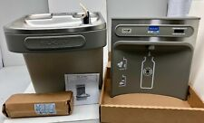 Elkay EZH20 Water Fountain Bottle Filling Station Wall Mounted LZS8WSLK EZWSR_1C