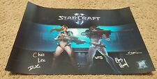 Blizzcon 2016 Exclusive Signed Starcraft Poster