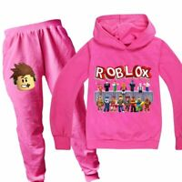 Roblox Girl Codes Clothes Pants 2020 Boys Girls Roblox Hoodies Trousers Cotton Clothing Birthday Gifts Sets Hot Ebay