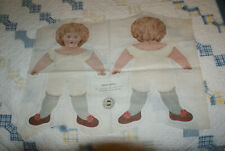 Antique lithographed doll by Cocheco