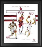 "Oklahoma Sooners Framed 15"" x 17"" Basketball Franchise Foundations Collage"