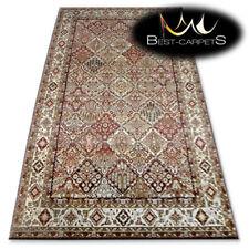 "TRADITIONAL AGNELLA RUGS terracotta frame ""STANDARD"" modern designs carpet"