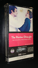 BOSTON STRANGLER 1968 MAGNETIC VHS 1978 TONY CURTIS HENRY FONDA SERIAL KILLER