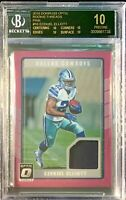 "EZEKIEL ELLIOTT ROOKIE ""BLACK.LABEL"" BGS.10!  2016 PANINI - OPTIC PINK!  POP.1!"