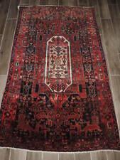 4x6ft. Handmade Bijar Wool Rug