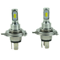 NEW H4 9003 HB2 6000K CSP Super White LED Headlight Bulbs Kit Canbus Error Free