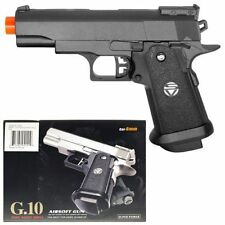 Small Metal Colt 1911 Airsoft Pistol Hand Gun 235fps w/1000 BBs Air Soft G10