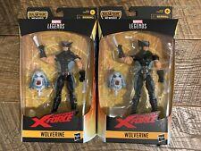 MARVEL LEGENDS WOLVERINE UNCANNY X-FORCE - LOT OF 2 - BOX VARIANTS - READ!