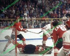 1972 SUMMIT SERIES action,Henderson,T.Esposito 8 X 10 glossy hockey #cc7Ax4gs6