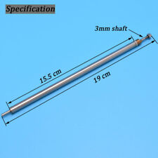 Steel Tube Spare Parts Stainless Steel 3mm Ship Shaft For Rc Boat -1410