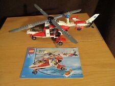 Lego - City - Rettungshubschrauber   Nr. 7903 mit BA