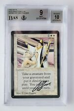 RESURRECTION BETA MTG (BGS 9 MINT AUTO 10) SIGNED BY DAN FRAIZER A0627